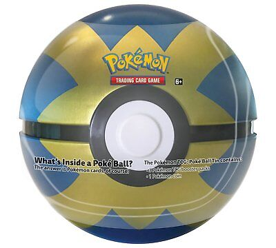 Pokemon TCG: Poke Ball Tin - Quick Ball :: Brand New And Sealed!