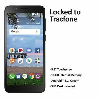 Tracfone TCL LX 4G LTE Prepaid Cell Phone