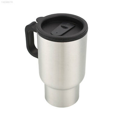 274B Car Coffee Drinks Electric Heated Cup 450ML Thermos Insulated Mug Kettle