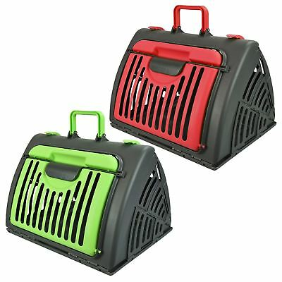 Portable Travel Pet Carrier Bag Transport Cage Crate Puppy Cat Dog Rabbit Kennel