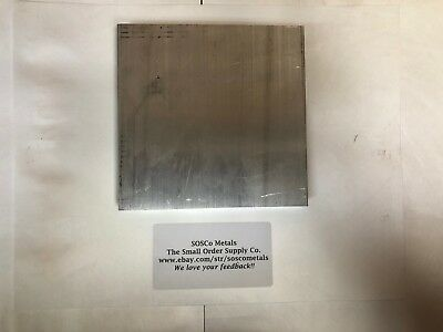 "3/4"" X 6"" X 6"" ALUMINUM FLAT BAR SOLID 6061 T6511 Plate New Mill Stock .75""x 6.0"