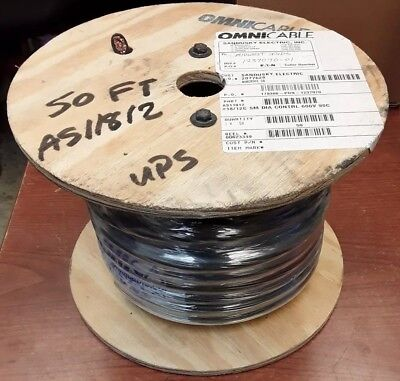 Omni Cable OmniCable AS11812 12 Conductor 50 Foot Wire