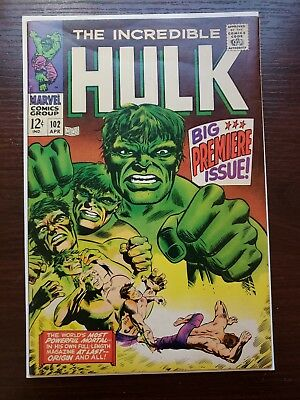 The Incredible Hulk #102!! Marvel Silver Age!! LOOK! MAKE AN OFFER!