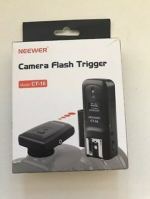 Neewer CT-16  Wireless Flash Trigger Set. FREE SHIPPING