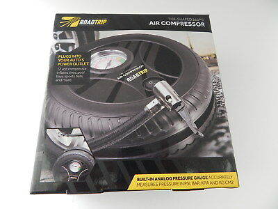 Sharper Image Si Aa8 12 Volt 260 Psi Tire Shaped Air Compressor