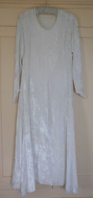 Gorgeous  1920's Art Deco  Silk Velvet Dress Flapper size 8/10
