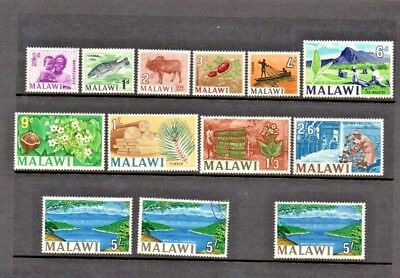 Malawi.  1964.  An interesting selection, see listing below for details.