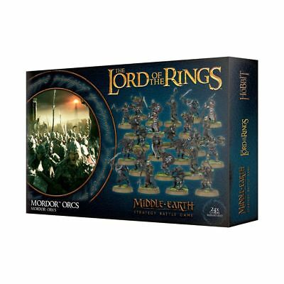Warhammer Mordor Orcs The Lord of the Rings plastic new