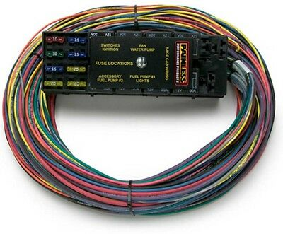 Painless Performance 50001 Universal 10-Circut Race Only Harness