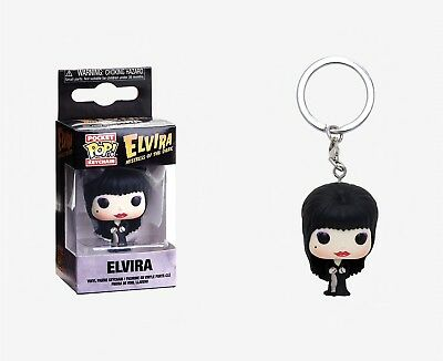 Funko Pocket Pop Keychain Elvira Mistress of the Dark: Elvira Keychain #32242