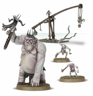 Warhammer Goblin King & Retinue The Lord of the Rings plastic new