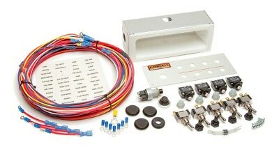 Painless Performance 50412 Offroad Switch Panel,1 Push and 5 Toggle Switches