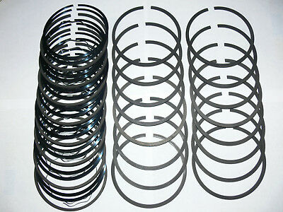 1966 to 1967 CHRYSLER, DODGE, PLYMOUTH 440 CU. IN. ENGINE STANDARD PISTON RINGS