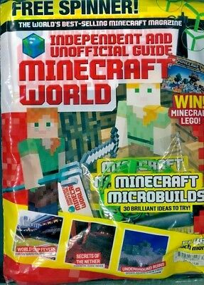 Minecraft World Magazine Issue #41 ~ New Sealed Pack ~