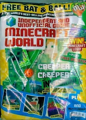 Minecraft World Magazine Issue #42 ~ New Sealed Pack ~