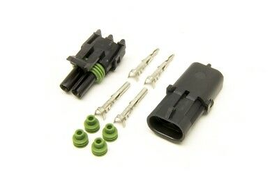 Painless Performance 70402 Weatherpack Connectors 2-Wire Kit