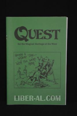 QUEST (for the Magical Heritage of the West) No.114 June 1998