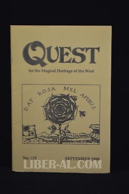 QUEST (for the Magical Heritage of the West) No.115 September 1998