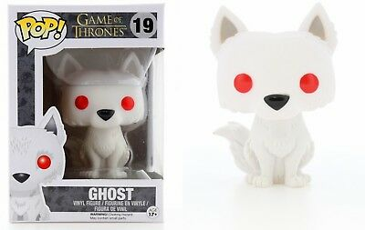 Funko Pop Game of Thrones™: Ghost Vinyl Figure Item #3876