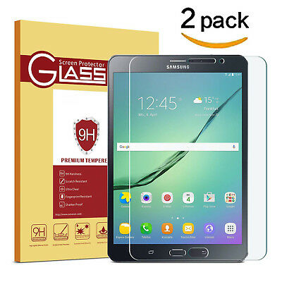 "100% Genuine Tempered Glass Screen Protector for Galaxy Tab A 10.1"" T580 T585"