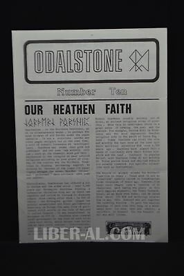 ODALSTONE No. 10 [News from the Odinshof]