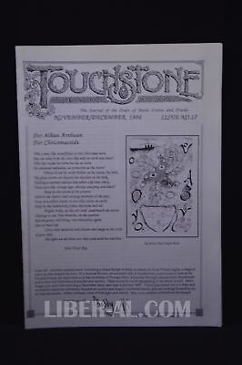 Touchstone Issue No. 17 November/December 1996 [The Journal of the Oder of Ba...