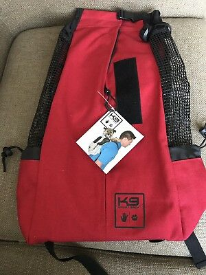 K9 Sport Sack Air For Large Pets Red