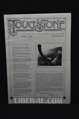 Touchstone Issue No. 12 June 1996 [The Journal of the Oder of Bards Ovates an...