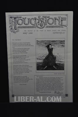 Touchstone Issue No. 11 May 1996 [The Journal of the Oder of Bards Ovates and...
