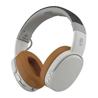 Skullcandy Crusher Bluetooth Wireless Over-Ear Headphone with Microphone Tan