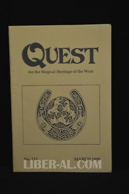 QUEST (for the Magical Heritage of the West) No.113 March 1998