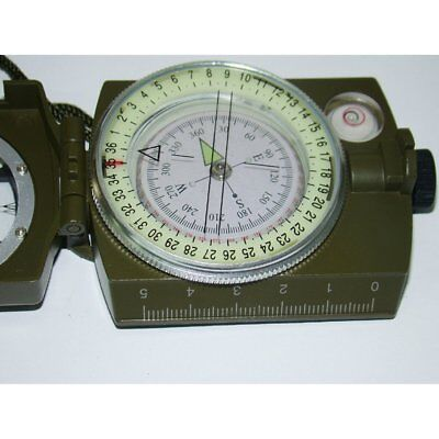 Luminous Metal Compass High Precision Compass Magnetic Compass For Camping QM