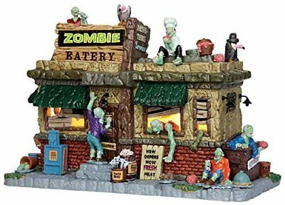 Lemax Spooky Town Zombie Eatery #45673 Brand New In Box