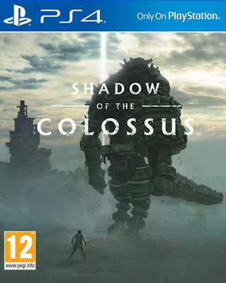Shadow Of The Colossus PS4 * NEW SEALED PAL *