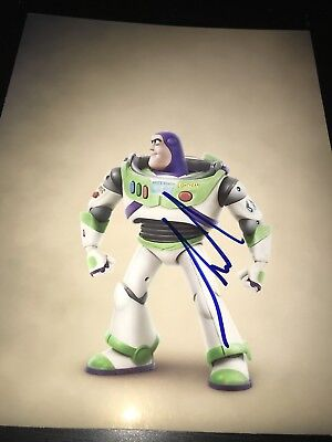 TIM ALLEN SIGNED AUTOGRAPH 8x10 PHOTO BUZZ LIGHTYEAR TOY STORY IN PERSON COA F