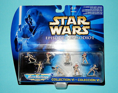 STAR WARS Micro Machines EPISODE 1 - COLLECTION VI - Battle Droids - NEW OVP