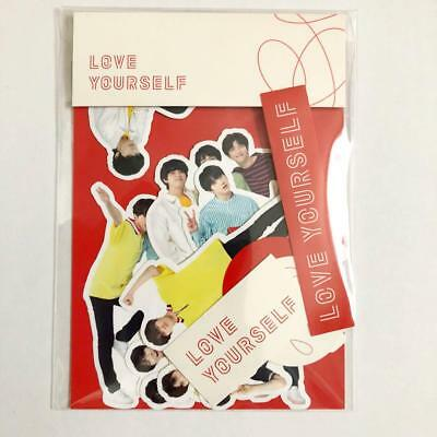 BTS World Tour Love Yourself LY Official Sticker Official Goods MD JAPAN 2018