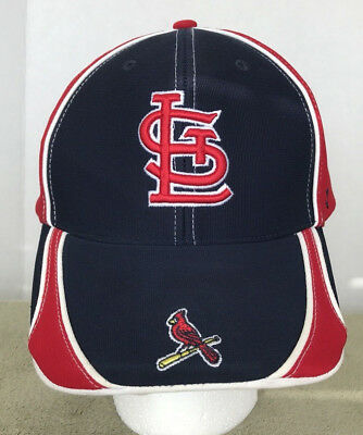 ddd92ce40be5d St. Louis Cardinals Ball Cap 47 Brand Adjustable Hat Ball Cap MLB Red and  Blue