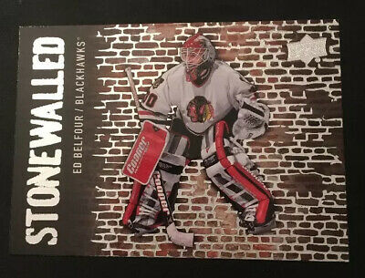 2018-19 Upper Deck Stonewalled Ed Belfour Blackhawks! SW-42