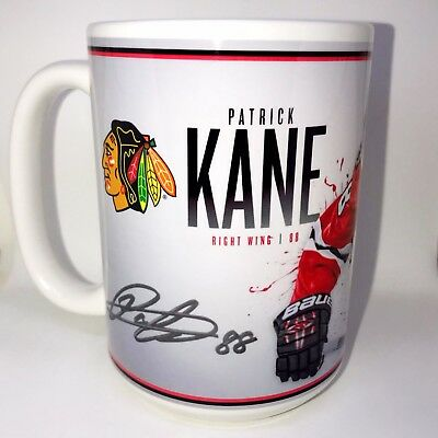 Custom Made Patrick Kane Chicago Blackhawks Coffee Mug