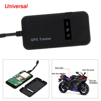 GPS Tracker Motorcycle Auto Finding Anti-theft Locator Tracking Device Portable