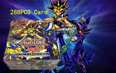 288PCS Yu-Gi-Oh Card Legendary Dragon Deck Sealed Box Dimension Dragon Xmas Gift
