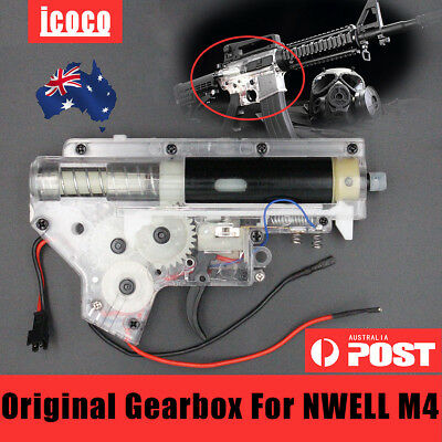 Upgrade Original Gearbox For NWELL M4 Water Gel Ball Blaster Toy Accessories AU