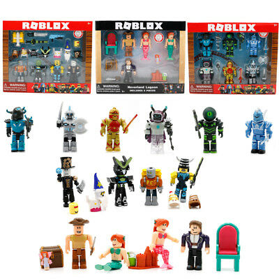 2018 Roblox Figures 7cm PVC Game Toys Set 6 Styles Kids Gift Collection In Box