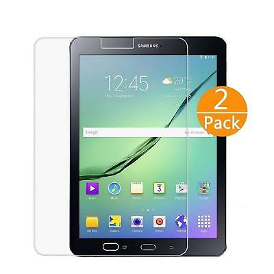2X Pack Tempered Glass Screen Protector - Samsung Galaxy Tab S2 9.7 inch SM-T810