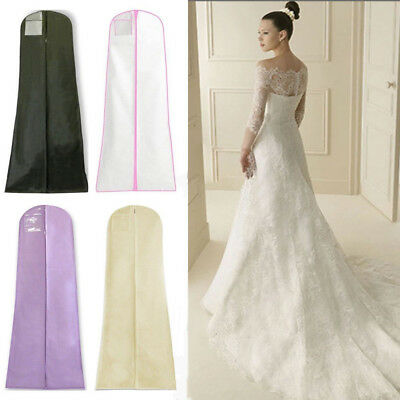 180cm Extra Large Wedding Dress Bridal Gown Garment Breathable Cover Storage Bag