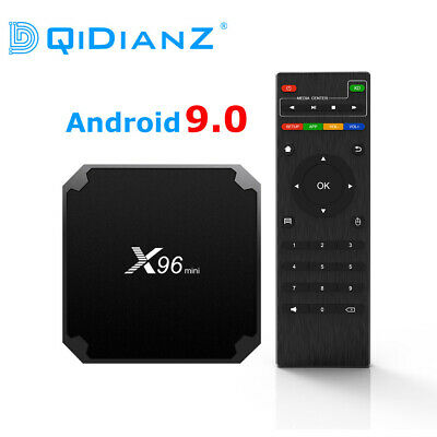 DQiDianZ X96 mini  Android 9.0 Smart TV BOX  Quad Core 2.4G  Lecteur Multimédia