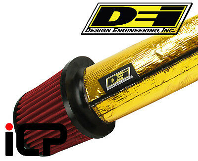 "DEI Gold Air Intake Cool Cover Kit Sleeve 4""x3FT Intake Intercooler pipes"
