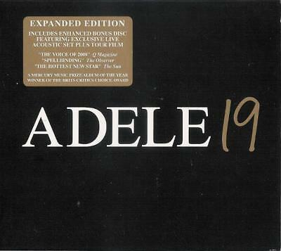 Adele – 19 2Cd Expanded Deluxe Edition Inc Live Acoustic Set (New/sealed)