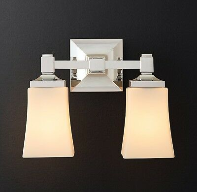 Restoration Hardware Dillon Double Sconce